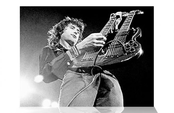 Jimmy Page Double Neck I (Koda)