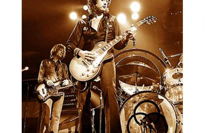 Jimmy Page Gold Top (1972)