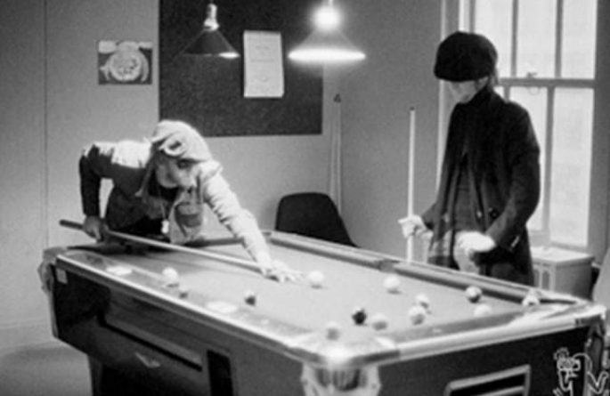 John Lennon & Harry Nilsson Record Plant, NYC, 1974