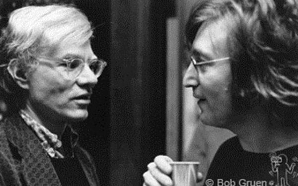 #2 John Lennon & Andy Warhol Record Plant, NYC, 1972