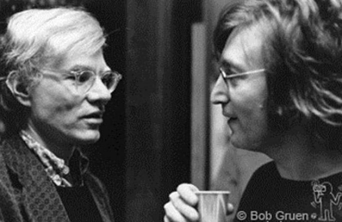 #2 John Lennon & Andy Warhol Record Plant, NYC, 1972