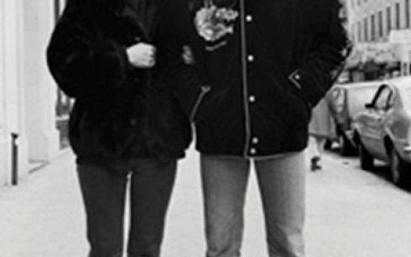 #2 John Lennon & Yoko Ono Portrait, 44th Street, NYC, 1980