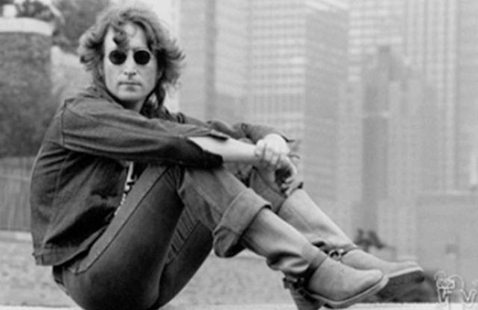 #9 John Lennon Portrait, NYC, 1984
