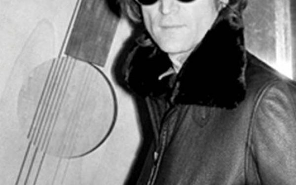 John Lennon Portrait, Record Plant, NYC, 1980