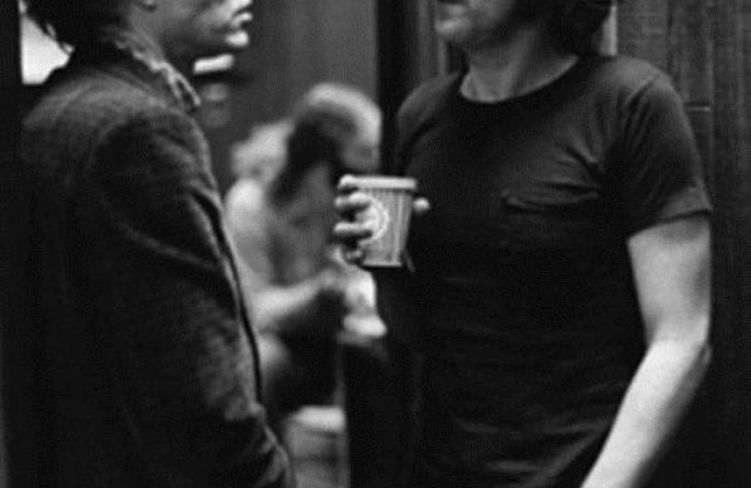 #1 John Lennon & Andy Warhol Record Plant, NYC, 1972