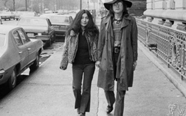 John Lennon & Yoko Ono 73rd Street & Central Park West, NYC, 1973