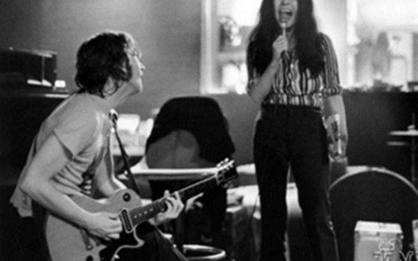 John Lennon & Yoko Ono Butterfly Studio, NYC, 1972