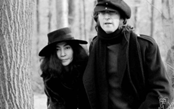 #2 John Lennon & Yoko Ono Greenwich, CT, 1973