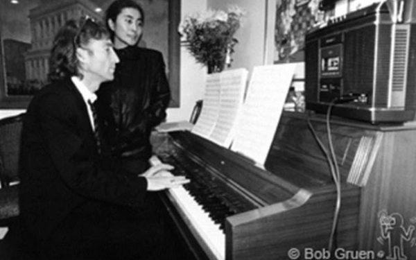 #1 John Lennon & Yoko Ono Hit Factory, NYC, 1980