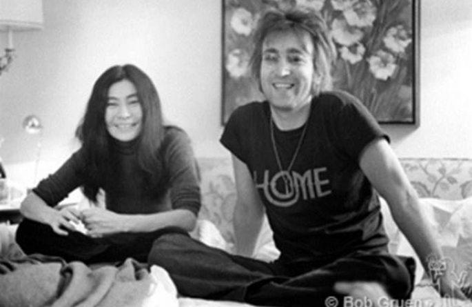 John Lennon & Yoko Ono St. Moritz Hotel, NYC, 1972