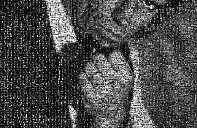 Keith Richards Mosaic