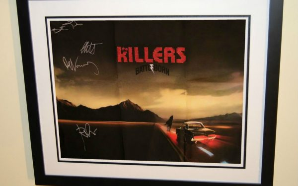 Killers Signed Poster