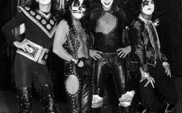 #5 Kiss Group Shot, 14th Street, NYC, 1974