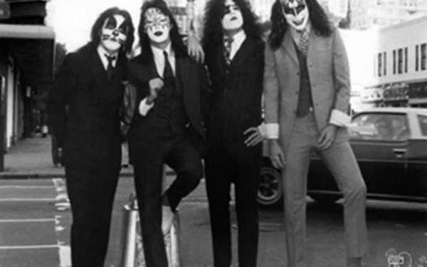 #3 Kiss Group Shot, Dressed To Kill Album Cover, NYC, 1974