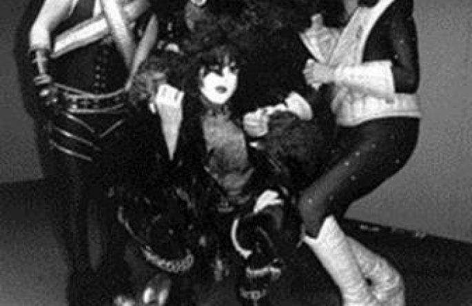 Kiss & Godzilla Group Shot, Tokyo, Japan, 1978