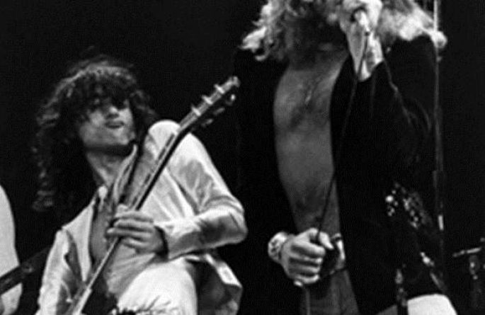 #3 Robert Plant & Jimmy Page Live, MSG, NYC, 1977