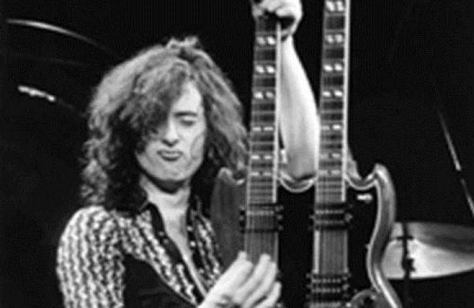 #6 Jimmy Page Live, MSG, NYC, 1975