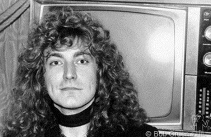 #2 Robert Plant Portrait, NYC, 1976