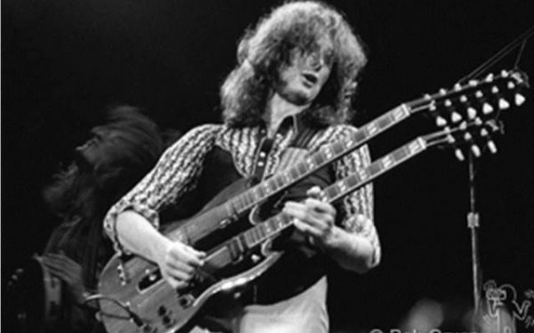 #2 Jimmy Page Live, MSG, NYC, 1975