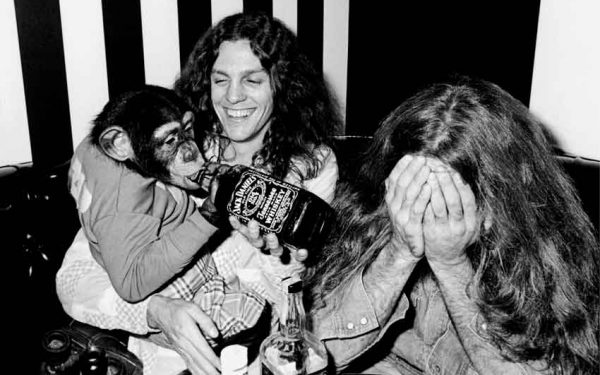 Lynyrd Skynyrd With Chimp