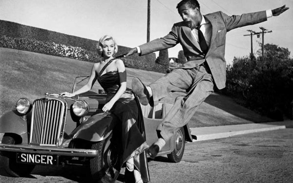 Marilyn Monroe, Sammy Davis Jr.