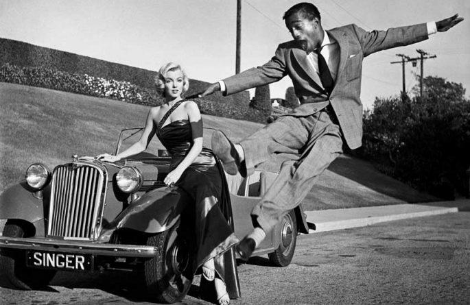 Marilyn Monroe, Sammy Davis Jr.