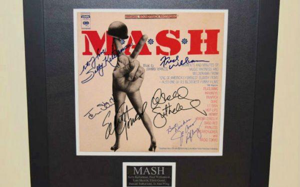 Mash Signed Original Soundtrack