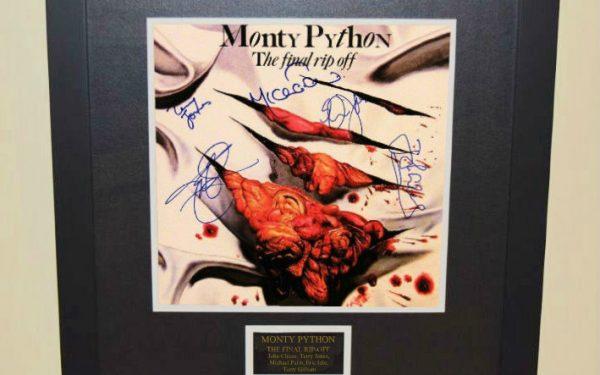 Monty Python The Final Rip-off Signed Original Soundtrack