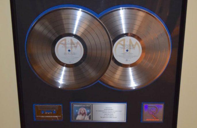 Peter Frampton RIAA Award For Come Alive