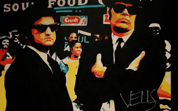 The Blues Brothers John Belushi and Dan Akroyd