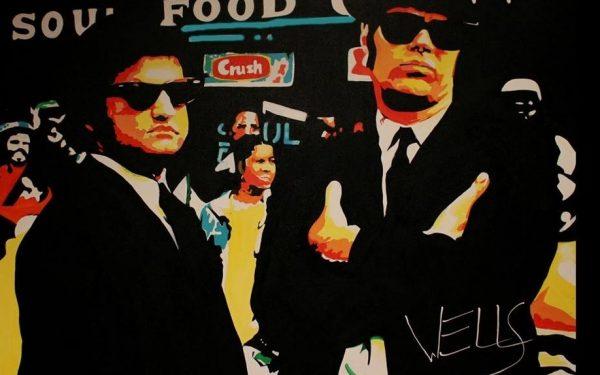 The Blues Brothers John Belushi and Dan Akroyd