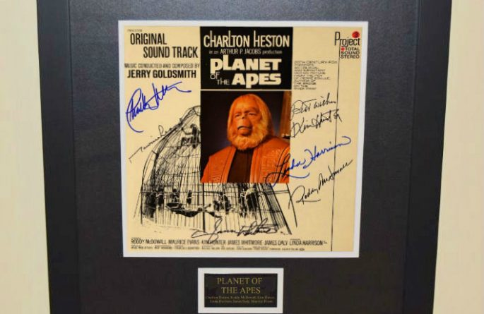 Planet Of the Apes Signed Original Soundtrack