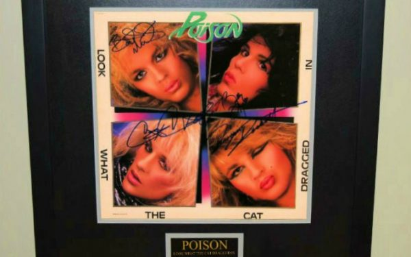 Poison – Look What The Cat Dragged In
