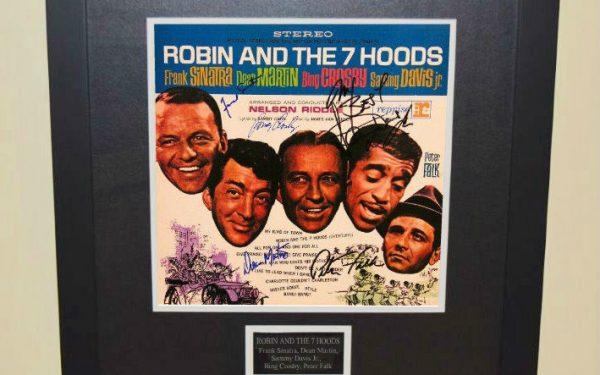 Robin & The 7 Hoods Signed Original Soundtrack