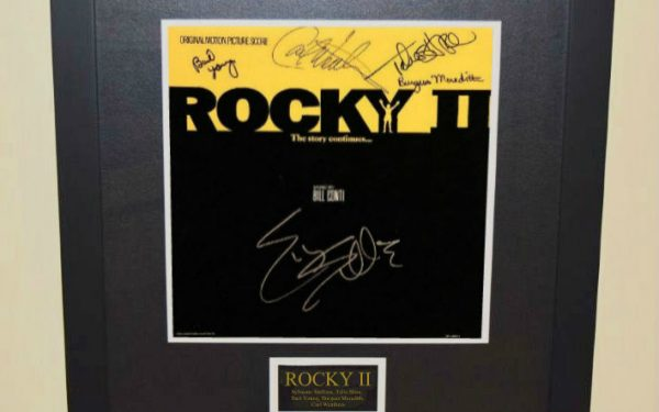 Rocky II Signed Original Soundtrack