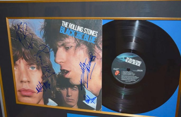 #2-Rolling Stones – Black and Blue