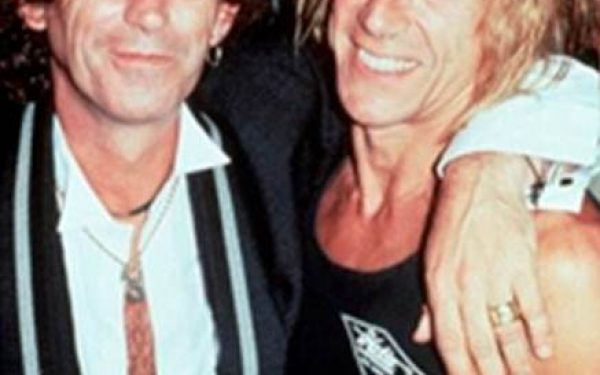 Keith Richards & Iggy Pop Acme Underground, NYC, 1988