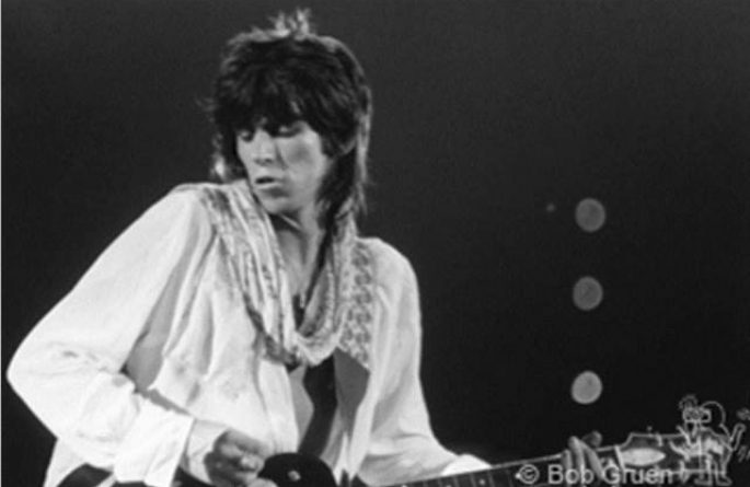 #3 Keith Richards Live, Baton Rouge, LA, 1975