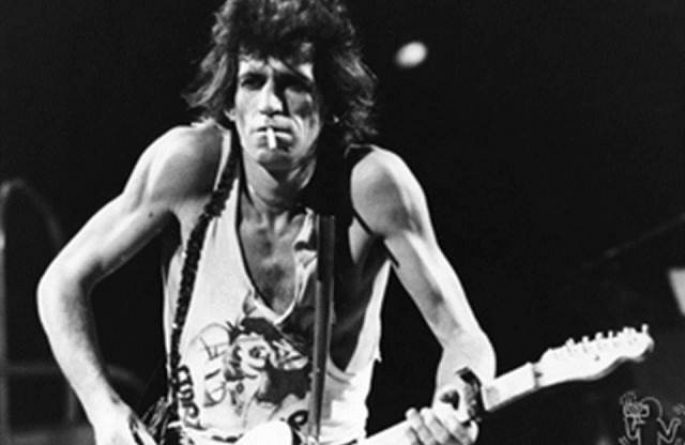 #8 Keith Richards Live, MSG, NYC, 1981