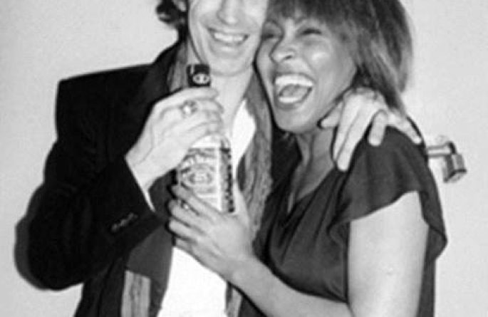 Keith Richards & Tina Turner Backstage, The Ritz, NYC, 1983