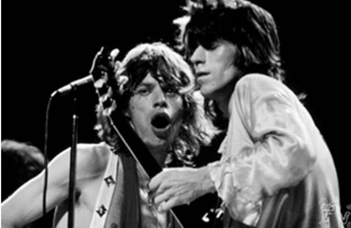 #2 Mick Jagger & Keith Richards Live, MSG, NYC, 1972