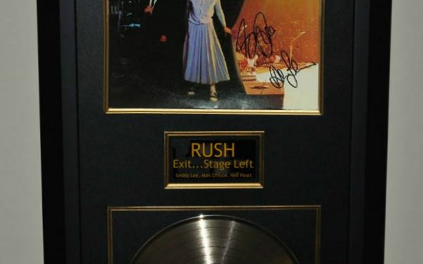 Rush – Exit…Stage Left