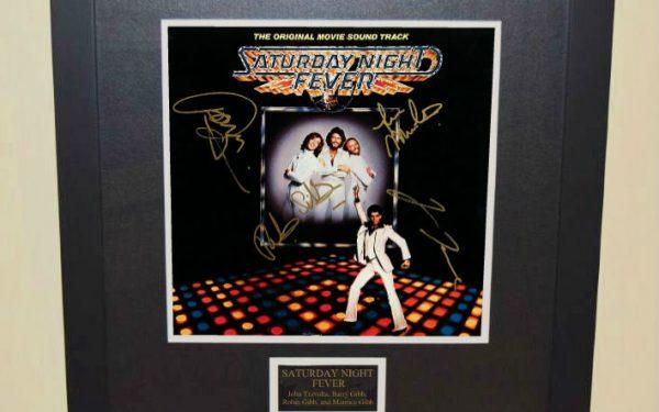 Saturday Night Fever Signed Original Soundtrack
