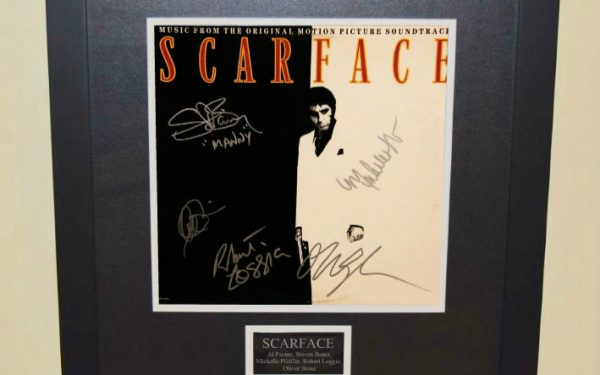 Scarface Signed Original Soundtrack