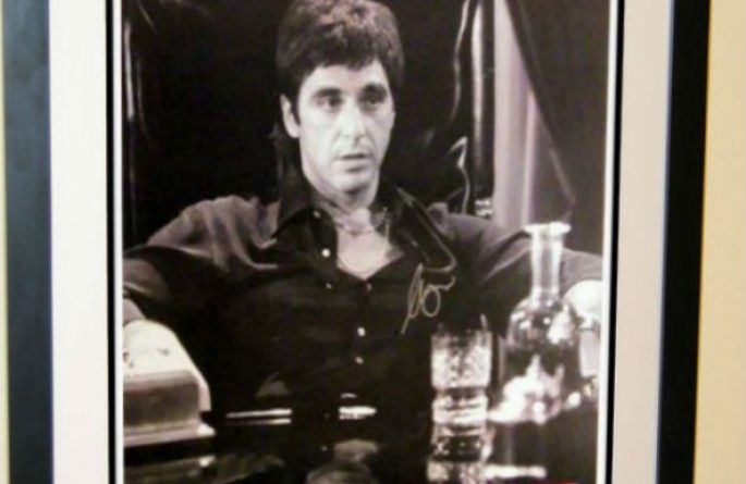 #4 Scarface Signed Movie Poster