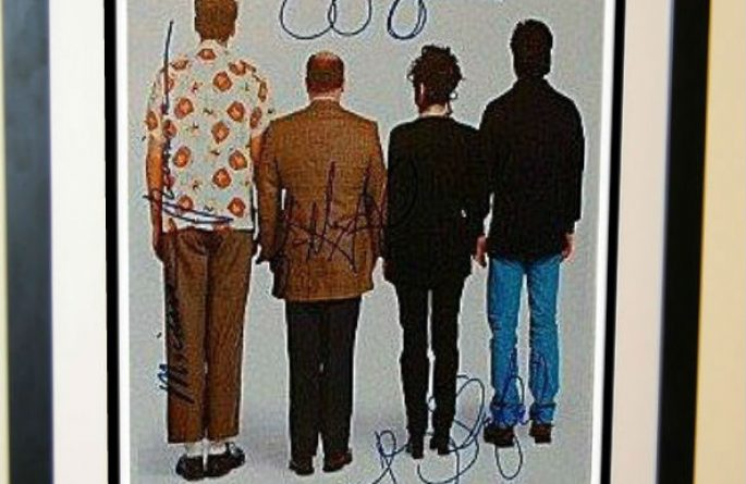 Seinfeld Signed Poster