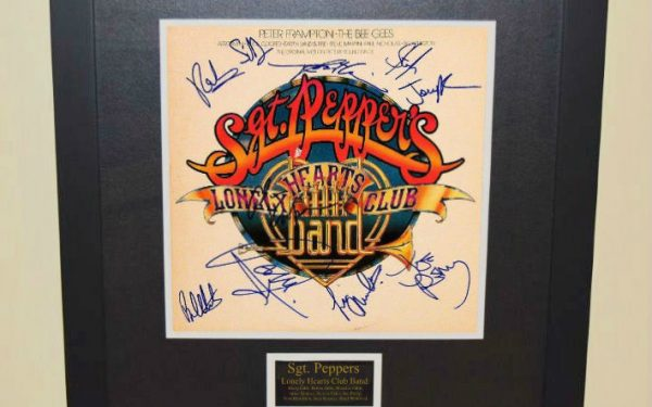 Sgt. Pepper's Lonely Hearts Club Band Signed Original Soundtrack
