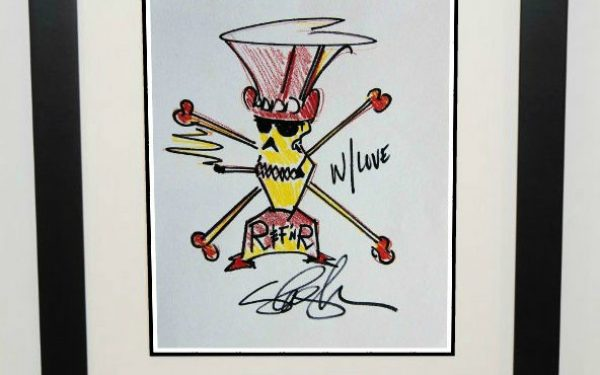 Slash – 8×10 Signed Drawing