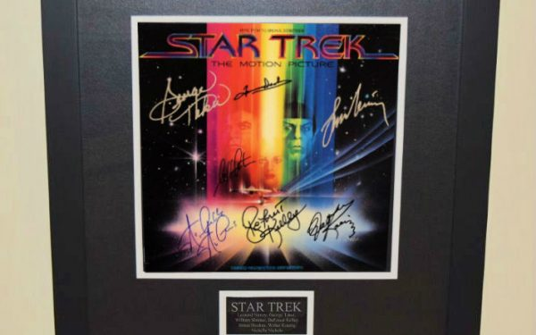 Star Trek  Signed Original Soundtrack