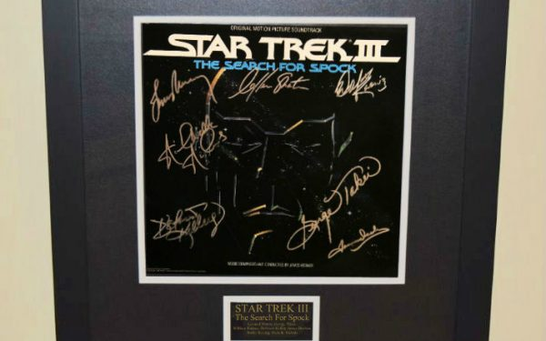 Star Trek III (The Search For Spock)  Signed Original Soundtrack